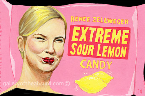 Renee Zelweger's Sour Lemon Candy