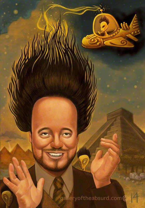 Giorgio's Hair is a Secret Alien Antenna